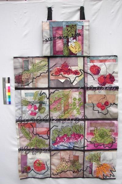 Sketchbook 2006 (livre textile)